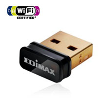 Edimax EW-7811UN Wireless N 150Mbps USB Nano Adapter
